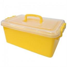 Контейнер пластиковый большой Gigo желтый (1140YY)