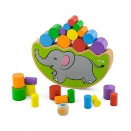 Деревянная игра-баланс Viga Toys Слоник (50390)