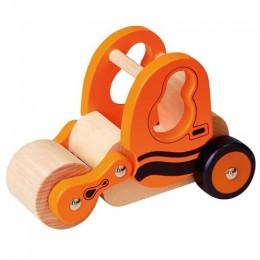 Деревянная игрушечная машинка Viga Toys Каток (59671VG)
