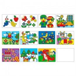 Комплект обучающих шаблонов для Большой мозаики 1192-1 Gigo (1192-2)