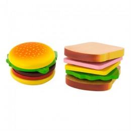 Игрушечные продукты Viga Toys Деревянные гамбургер и сэндвич (50810)