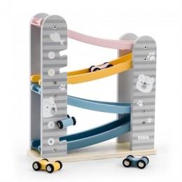 Деревянный игровой набор Viga Toys PolarB Автотрек (44013)