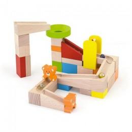 Деревянный игровой набор Viga Toys Горки для шариков (51619)