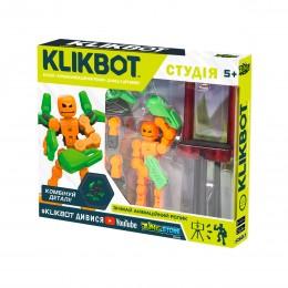 Игровой Набор Для Анимационного Творчества Klikbot S1 – Студия (Зеленая)