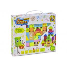 """Деревянные кубики """"Городок"""" Win Fun (33 детали) арт. 7381"""