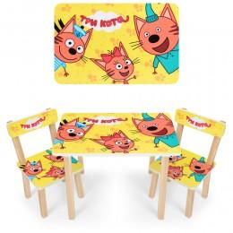 "*Набор мебели - столик и 2 стульчика ""Три кота"" арт. 501-75"