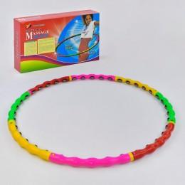 *Обруч массажный с колесиками (диаметр 98 см) арт. 34424
