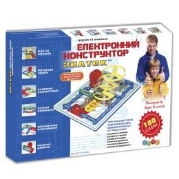 Конструктор - ЗНАТОК (180 схем) Kiddisvit арт. REW-K003