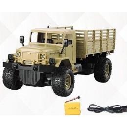 Машина военная на радиоуправлении БЕЖЕВАЯ арт. 869-66