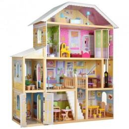 *Деревянный домик с мебелью для кукол (аналог KidKraft) арт. 2675