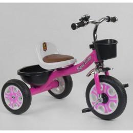 """Детский велосипед """"Гномик"""" трехколесный BestTrike (розовый) арт. 2806"""
