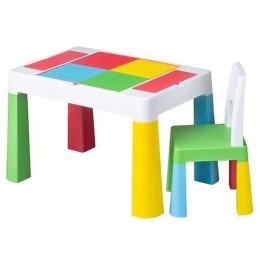 Комплект мебели (столик и стульчик) Tega Baby MultiFun РАЗНОЦВЕТ