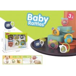 """Набор погремушек """"Baby rattles"""" арт. 1158"""