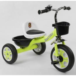 """Детский велосипед """"Гномик"""" трехколесный BestTrike (салатовый) арт. 3109"""