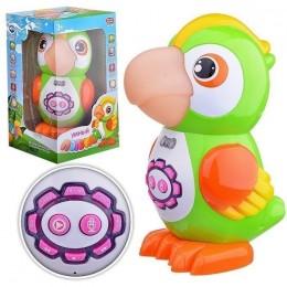 """Развивающая интерактивная игрушка """"Попугай"""" (рассказывает стихи, сказки, песни) Play Smart арт. 7496"""