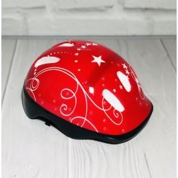 Детский защитный шлем КРАСНЫЙ арт. 2978