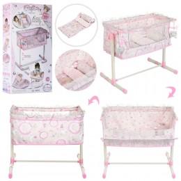 Кровать - манеж для куклы (Baby Born) TM DeCuevas арт. 51234