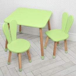 *Комплект детской мебели (стол + 2 стула) арт. 04-025G+1