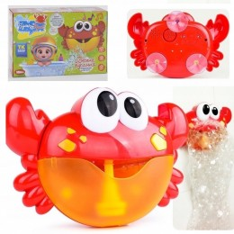 """Игрушка для ванной (генератор мыльных пузырей) """"Краб"""" арт. 18642"""