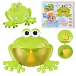 """Игрушка для ванной (генератор мыльных пузырей) """"Лягушка"""" арт. 68965"""