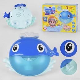 """Игрушка для ванной (генератор мыльных пузырей) """"Кит"""" арт. 31443"""