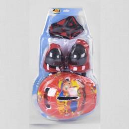 Комплект защита и шлем КРАСНАЯ арт. 44340