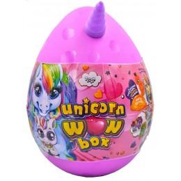 """Подарочный набор для творчества """"Unicorn WOW Box"""" РОЗОВЫЙ арт. UWB-01-01"""
