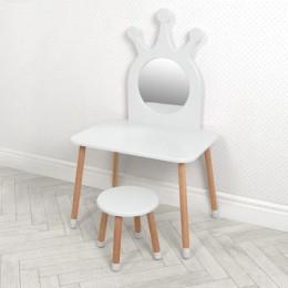 *Детское деревянное трюмо со стульчиком арт. 03-01W