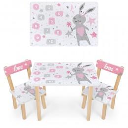 *Набор мебели - столик и 2 стульчика арт. 501-114