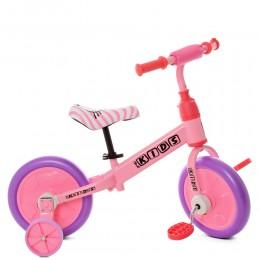 Беговел - велосипед 2в1 Profi Kids (12 дюймов) арт. М 5453-4