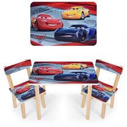 """*Набор мебели - столик и 2 стульчика """"Тачки"""" арт. 501-52"""