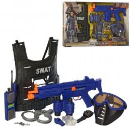 Игровой набор полицейского с бронежилетом SWAT арт. 34290