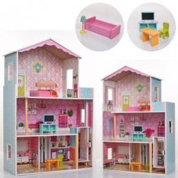*Деревянный домик с мебелью для кукол (аналог KidKraft) арт. 2579