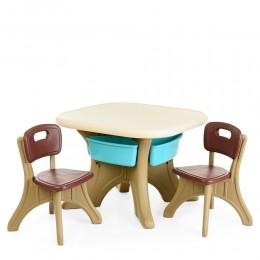 *Комплект мебели (стол+2 стула) TM Bambi арт. ETZY-13