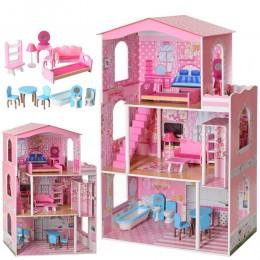 *Деревянный домик с мебелью для кукол (аналог KidKraft) арт. 2413
