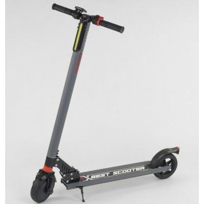 """*Электросамокат """"Best scooter"""" (серый) арт. 83325"""