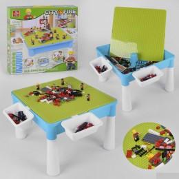 Столик 3 в 1 (для сборки конструктора, рисования, песочница)
