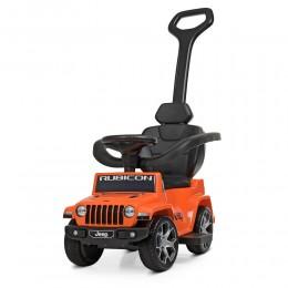 *Электромобиль (каталка - толокар) с родительской ручкой Jeep Rubicon арт. 4247EL-7