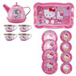 """Игровой набор металлической посуды """"Hello Kitty"""" арт. 1001-1/3"""