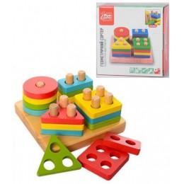 "Деревянная игрушка - сортер ""Геометрика"" арт. 80380"