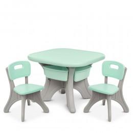 *Комплект мебели (стол+2 стула) TM Bambi арт. NEW TABLE-5
