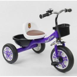 """Детский велосипед """"Гномик"""" трехколесный BestTrike (фиолетовый) арт. 1355"""