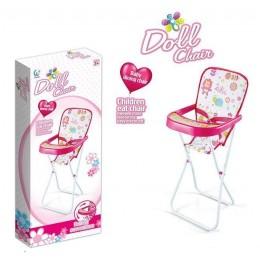 Стульчик для кормления куклы Doll chair  арт. 6609