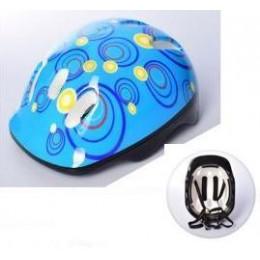 Детский защитный шлем СИНИЙ арт. 2304