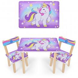 """*Набор мебели - столик и 2 стульчика """"Pony"""" арт. 501-44-2"""
