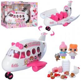 """Игровой набор """"Самолет с куклами"""" LOL ЛОЛ арт. 5625"""