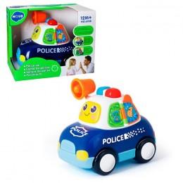 Музыкальная развивающая машинка Police TM Hola арт. 6108