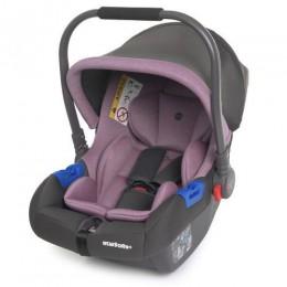 *Автокресло детское El Camino Newborn Royal Violet арт. 1043
