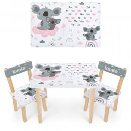 *Набор мебели - столик и 2 стульчика арт. 501-115(EN)