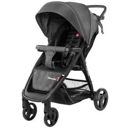 Коляска прогулочная CARRELLO Maestro CRL-1414 Magnet Grey + дождевик (темно-серая)
